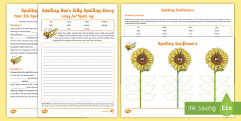 Year 3/4 Spelling at Home: Long /a/ Spelt \'ey\'  Spelling Pack - Support with KS2 spellings, long /a/, ey, digraph, ey, year 3, y3, year 4, y4, spag, gps,
