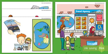 Where in the World Shall We Go? Display Cut-Outs - ROI, Aistear, Travel Agents, Display Cut Outs,Irish