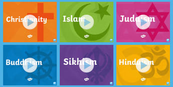 Inter Faith Week: World Religions PowerPoint Pack - Inter Faith Week, Interfaith, Christianity, Islam, Buddhism, Hinduism, Judaism, Sikhism