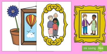 Home Living Giant Role Play Cut-Outs - home living, role-play, cut-outs, display, bulletin board, at home, house, pretend, sink, window, fi
