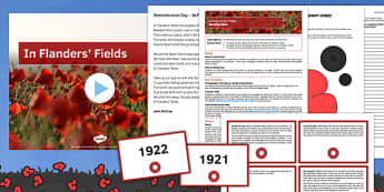 Remembrance Day Lesson Pack - remembrance day, lesson pack, lesson, pack