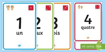 Affiches : Les nombres imagés de 1 à 100 - frise numérique, number line, nombres, numbers, chiffres, mathématiques, maths, compter, additionn
