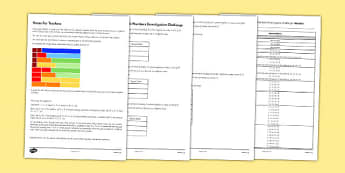 Year 2 Adding 3 1 digit Numbers Investigation Challenge - year 2, adding, 3, 1 digit, numbers