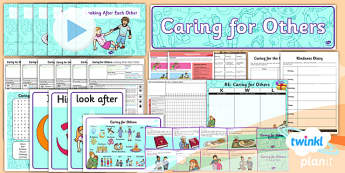 RE: Caring for Others Year 1 Unit Pack