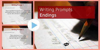 Ten Endings for Writing Prompts - ten, endings, writing, prompts