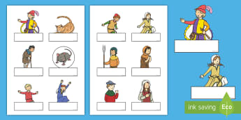 The Pied Piper Self-Registration - Pied Piper, story, children, rats, Hamelin, pipes, cats, Self registration, register, editable, labels, registration, child name label, printable labels, cave, villagers, mountain, town, money, story book