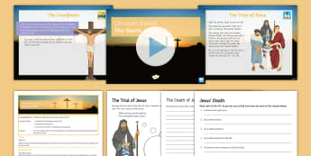 Jesus' Death Lesson Pack - Death, Crucifixion, Jesus, Easter, Good Friday