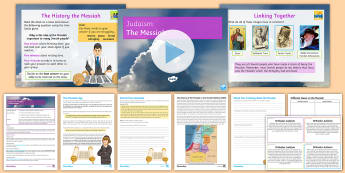 Judaism: The Messiah Lesson Pack - Judaism, Jewish, GCSE, KS4, teachings, torah