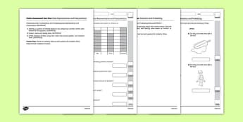 Year Two Statistics and Probability Assessment Pack-Australia