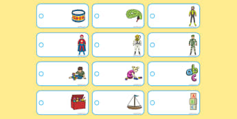 Toy Shop Editable Price Tags - cfe, curriculum for excellence, toy shop, toy, shop, gaelic, editable, edit, price tags, price, tag