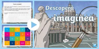 Cifrele romane Descoperă imaginea PowerPoint - numere romane, cifre romane, activități matematice, jocuri, activitate, romanian