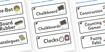 Raven Themed Editable Additional Classroom Resource Labels - Themed Label template, Resource Label, Name Labels, Editable Labels, Drawer Labels, KS1 Labels, Foundation Labels, Foundation Stage Labels, Teaching Labels, Resource Labels, Tray Labels, Pr