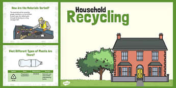 Recycling Week PowerPoint - recycling, week, powerpoint, recycle