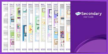 Twinkl Secondary User Guide - twinkl, secondary, user guide, user, guide, twinkl secondary