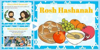 What is Rosh Hashanah? PowerPoint- rosh hashanah, eyfs, powerpoint