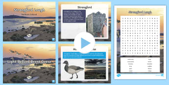 Strangford Lough Resource Pack - Northern Ireland, geese, migration, vikings, mesolithic