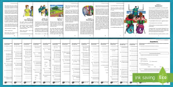 Our Teachers Are Superheroes Differentiated Reading Comprehension Activity Pack - superpowers, english, heroes, school, questions, worksheet, writing, literacy