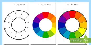 Color Wheel Activity - color, color wheel, primary, secondary, swatches, painting, rainbow, spectrum, mixing, art,