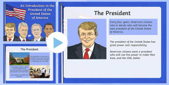 An Introduction to the President of the United States of America PowerPoint