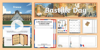 Bastille Day KS2 Resource Pack - france, french revolution, storming of the bastille, king of france, history Ks2,