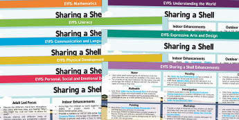 EYFS Lesson Plan and Enhancement Ideas to Support Teaching on Sharing a Shell - lesson planning, plans, story, planning