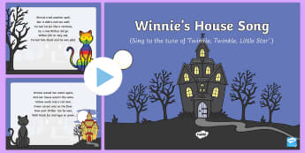 Winnie's House Song PowerPoint