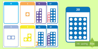Number Shape Bonds to 20 Flashcards - Number bonds, number bonds, number bonds to 10, number shapes, numicon, Numicon,