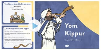 Yom Kippur Assembly Presentation - yom kippur, assembly, presentation