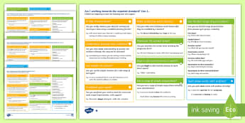 Y3 Writing Assessment I Can Statements with Worked Examples Assessment Pack - KS2 English Assessment Materials, KS2, assess, review, moderate, track, english, literacy, reading,