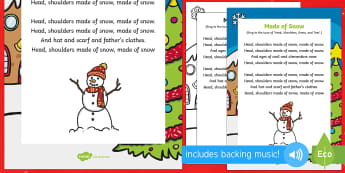 Made of Snow Song - The Snowman, Raymond Briggs, Christmas, winter, snowman. snowmen, singing, song time