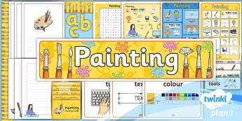 Computing: Painting Year 1 Unit Additional Resources