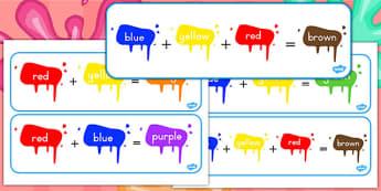 Colour Mixing Pack (Australia) - colours, mix, visual, visuals