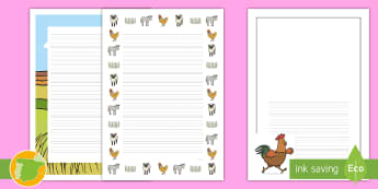 Pautas verticales: La boda del tío Perico - cuentos, tradicionales, escritura, animales, gallo,Spanish