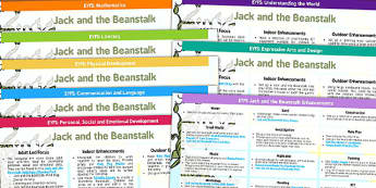 Jack and the Beanstalk EYFS Lesson Plan and Enhancement Ideas - lesson plan, idea, planning