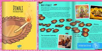 Diwali eBook - hindu, hinduism, religion, festivals, celebrations