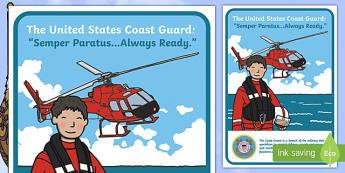 USA Coast Guard Display Poster