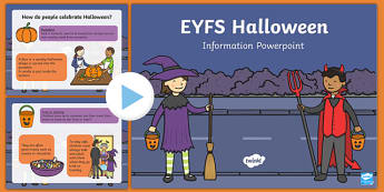 All About Halloween PowerPoint - ESL Halloween Resources
