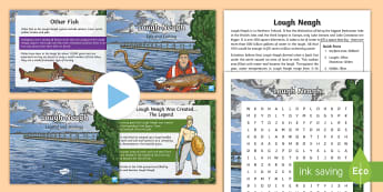 Lough Neagh Resource Pack - Northern Ireland, geography, geology, Place, biodiversity, landscape
