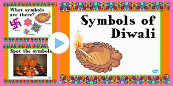 Diwali Symbols and Their Meanings PowerPoint - diwali, powerpoint