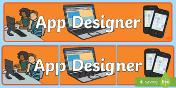 App Designers Role Play Banner-app design, role play, banner, role play banner, app design role play, designer role play, display banner