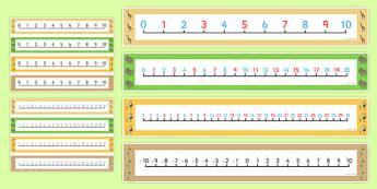 Dancing Giraffe Themed Number Lines Pack up to 30 - Giraffes Can't Dance, count, add, subtract, maths, EYFS, mathematics, jungle
