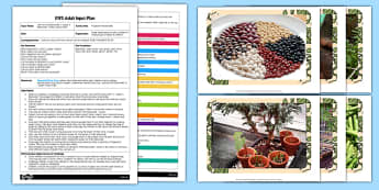 Fingerprint Beanstalk Activity EYFS Adult Input Plan And Resource Pack - EYFS, Early Years planning, adult led, plants, growth, Jack and the Beanstalk, Jasper's Beanstalk, Mick Inkpen, Nick Butterworth, Expressive Arts and Design, EAD