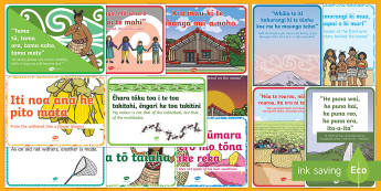 Whakatauki - Māori Proverb  Display Pack - NZ, New Zealand, Maori, sayings,