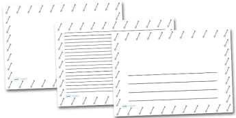 Garden Spade Landscape Page Borders- Landscape Page Borders - Page border, border, writing template, writing aid, writing frame, a4 border, template, templates, landscape