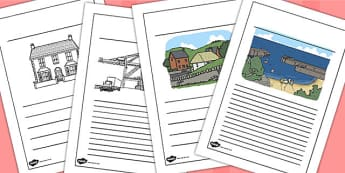 Human Geography Writing Frames - human, geography, writing, frame