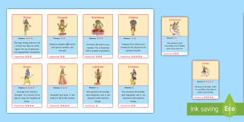 Hindu God Card Game - Hindu, Hindu God, Top Trumps, Top Trumps Cards, Hindu God Top Trumps, Hindu Top Trumps, Hindu Top Trumps Cards