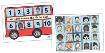 Maths Bus - maths bus poster, maths bus self registration, maths self registration, numeracy poster, maths poster, maths display resources, maths display