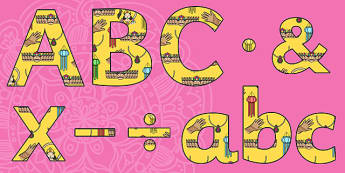 Diwali Themed Display Lettering-diwali, themed, display, lettering, display lettering, diwali lettering, diwali display, religion, RE, letters, divali, divalli