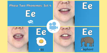 Phase 2 Phonemes : Set 4 'e' Video - Phonics, Letters and Sounds, Grapheme, pronunciation, ck,e,r,u, Twinkl Go, twinkl go, TwinklGo, twinklgo