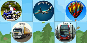 Transport Display Lettering Cut Outs - transport, display photos